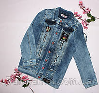 """Куртка подростковая джинсовая на девочку 10-14 лет Серии """"Golden Image"""" купить недорого от прямого поставщика"""