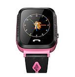 Детские Смарт часы с GPS V5F Pink (Smart Watch) Умные часы, фото 2