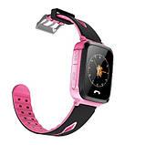 Детские Смарт часы с GPS V5F Pink (Smart Watch) Умные часы, фото 3