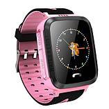 Детские Смарт часы с GPS V5F Pink (Smart Watch) Умные часы, фото 4