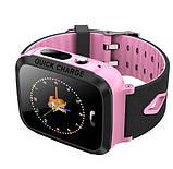 Детские Смарт часы с GPS V5F Pink (Smart Watch) Умные часы, фото 5