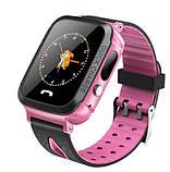 Детские Смарт часы с GPS V5F Pink (Smart Watch) Умные часы, фото 6