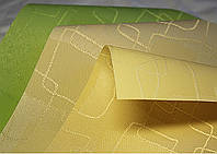 """Рулонные шторы, ткань """"Топаз"""" производство Польша с алюминиевой планкой утяжелителем."""