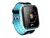 Детские Смарт часы с GPS V5F Blue (Smart Watch) Умные часы, фото 1