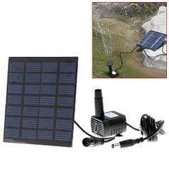 Фонтан на солнечных батареях RC-602