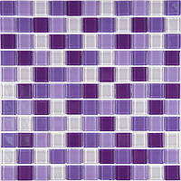 VIVACER Мозаика Микс прозрачное стекло MixC 014R