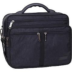 Украина Мужская сумка Bagland Mr.Green 16 л. Чёрный (0025270)