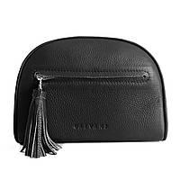 Жіноча шкіряна сумка чорна