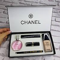 Подарочный набор косметики Chanel 5 in 1 (Шанель 5 в 1)