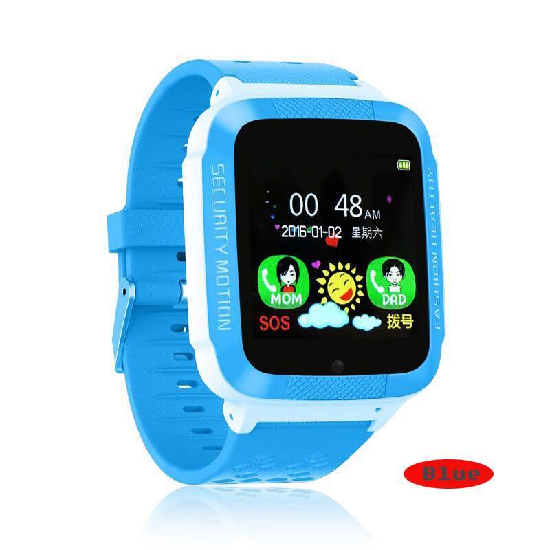 Детские Смарт часы с GPS K18 blue (Smart Watch) Умные часы