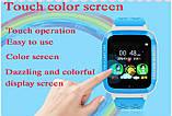 Детские Смарт часы с GPS K18 blue (Smart Watch) Умные часы, фото 4