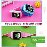 Детские Смарт часы с GPS K18 blue (Smart Watch) Умные часы, фото 3