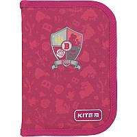 Пенал без наполнения Kite Education Princess  розовый P19-621