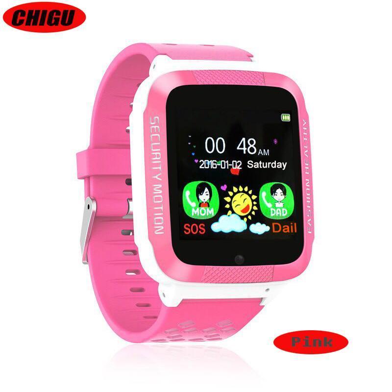 Детские Смарт часы с GPS K18 pink (Smart Watch) Умные часы