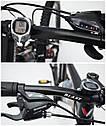 Велосипед BLAST S300 24″ (Чёрно-Красный) + бутылка для воды и спидометр, фото 2