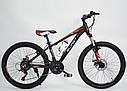 Велосипед BLAST S300 24″ (Чёрно-Красный) + бутылка для воды и спидометр, фото 3