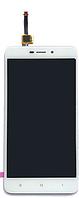 Дисплей (экран) для Xiaomi Redmi 4X ксиоми, Redmi 4X Pro + тачскрин, цвет белый