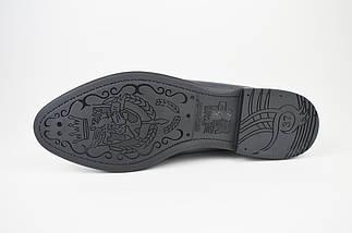 Туфли на плоской подошве серые Evromoda 176, фото 3