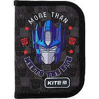 Пенал без наполнения Kite Education Transformers 1 отделение 1 отворот Серый (TF19-621-2)