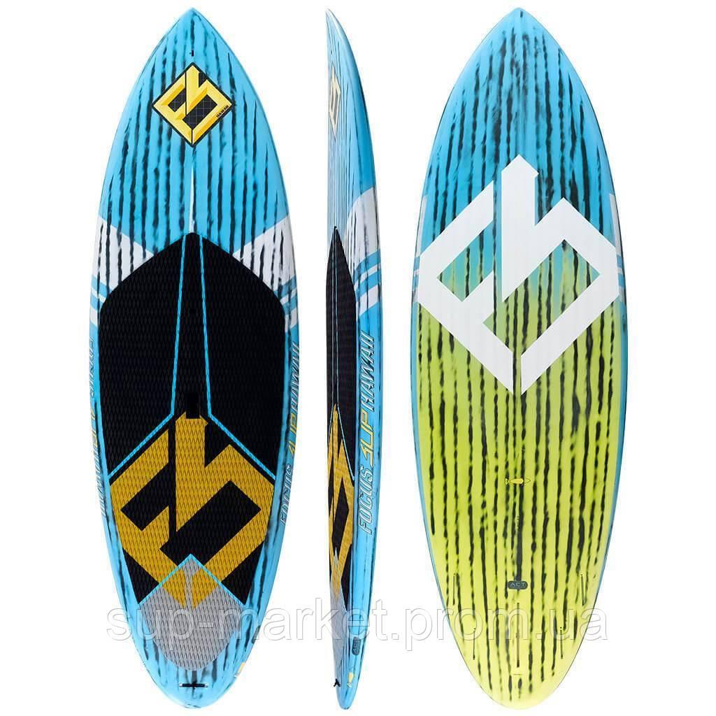 SUP доска Focus SUP Hawaii TORPEDO SURF CARBON PADDLE BOARD 8'9х32 ACT