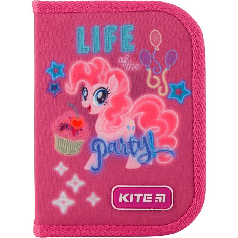 Пенал без наполнения Kite Education My Little Pony 1 отделение 2 отворота Розовый (LP19-622-2)