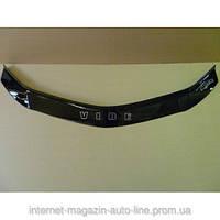 Дефлектор капота (мухобойка) Pontiac Vibe с 2002-2007 г.в. (Понтиак вибе) Vip Tuning