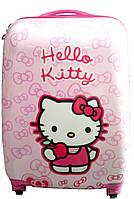 Дитяча валіза на 4 коліщатках Хелло Кітті 22 літра / Hello Kitty