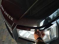 Накладки на фары Land Rover Freelander 2007+, Ленд Ровер Фрилендер, фото 1