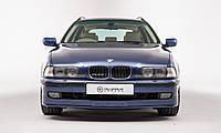 """Накладка на передний бампер БМВ Е39 """"Альпина"""" (До рестайл), BMW E39"""
