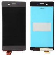 Дисплей (экран) для Sony F5121 Xperia X Dual Sim, F5122, F8131, F8132 Сони + тачскрин, цвет серый, оригинал