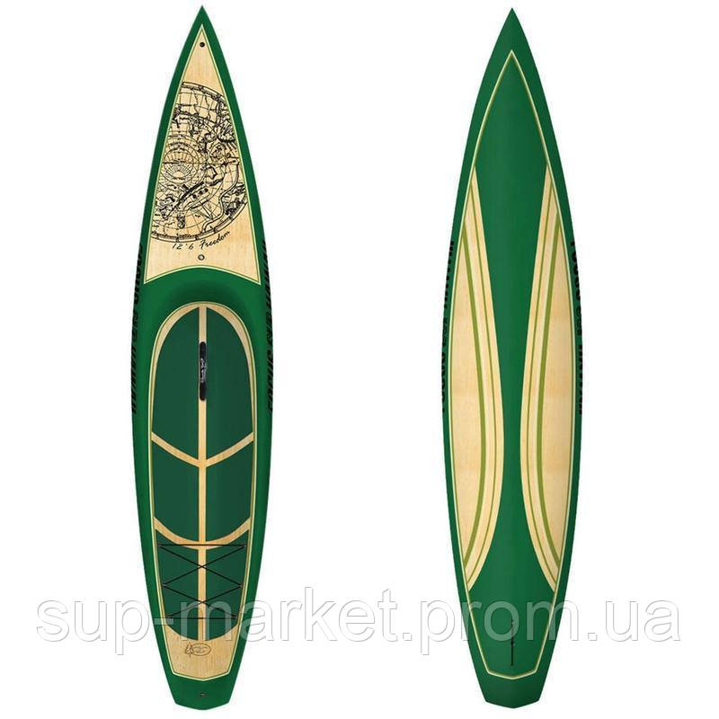"SUP доска Focus FREEDOM 12.6"" WOOD VST"