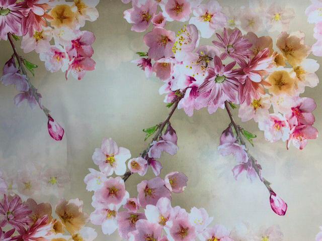 Софт цветочный принт