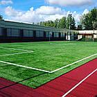 Искусственная трава APOLLO 40 мм для футбола зеленая, фото 5