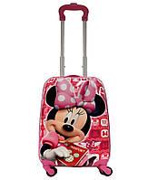 Детский чемодан на 4 колесиках Минни Маус 29 литра / Minnie Mouse
