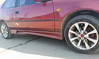 Накладки на пороги для Opel (Модель №3), Опель, фото 1
