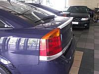 (ABS пластик) Лип спойлер Opel Vectra C, Опель Вектра Ц, фото 1