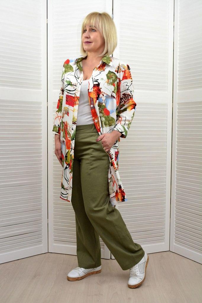 Комплект: Рубашка и брюки - Модель 1645-7+1657-3