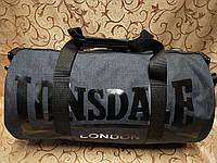 Спортивная сумка lonsdale Мессенджер хорошее качество ткань катион матовый популярн дорожная сумка только ОПТ, фото 1