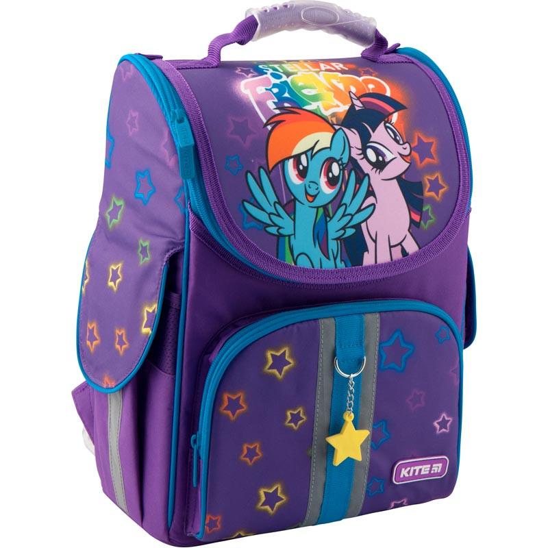 bebfd236f85a Рюкзак школьный каркасный Kite Education My Little Pony Литл пони  (LP19-501S-1