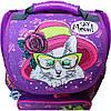 Украина Рюкзак школьный каркасный с фонариками Bagland Успех 12 л. фиолетовый 168к (00551703), фото 3