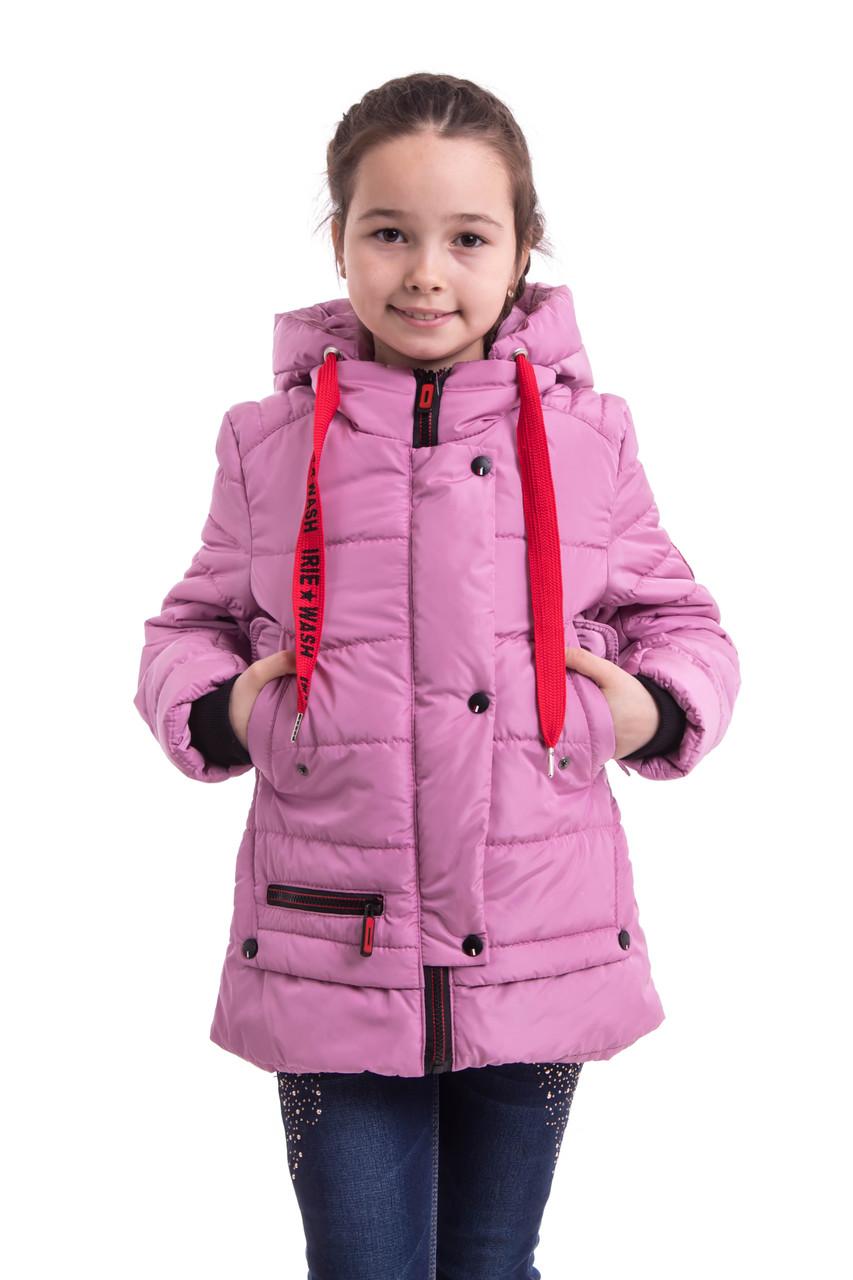Куртки для девочек весенние  от производителя  34-42  сиреневый