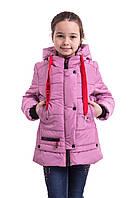 Куртки для девочек весенние  от производителя  34-42  сиреневый, фото 1