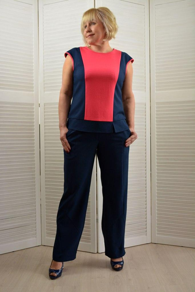 Комплект: Топ и брюки - Модель 1661-2+1657-4