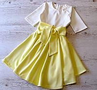 Детское платье р.128-146 Беатрис, фото 1