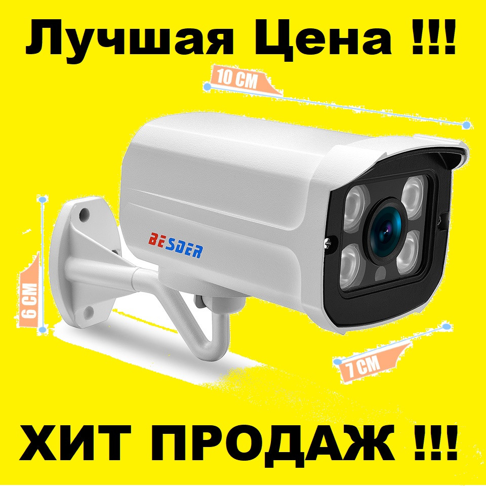 Камера наружная IP Wi-Fi BESDER Yoosee