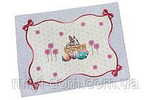 """Серветка під тарілку """"Пасхальний кролик"""", 37х49 см"""