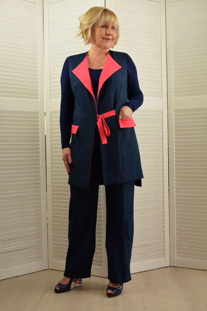 Комплект: Жилет и  брюки - Модель 1673-2