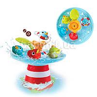 Іграшка для ванни Yookidoo Качині гонки (музичний фонтан)
