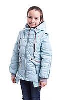 Куртка демисезонная на девочку от производителя   34-42 Голубой, фото 1