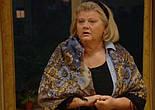 Ностальгия 573-14, павлопосадский платок шерстяной с шерстяной бахромой, фото 4